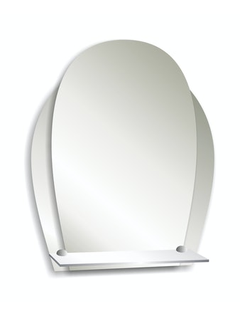 Зеркало Дельфин, 45 x 3 x 58 см