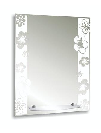 Зеркало Флора, 53,5 x 3 x 68 см