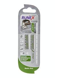 Пилки для быстрого грубого распила Runex HSS T127D, 100 x 75 мм, 2 шт.