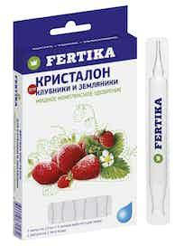 Удобрение для клубники и земляники Fertika Кристалон, 5 x 10 мл