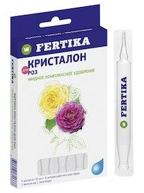 Удобрение для роз Fertika Кристалон, 5 x 10 мл