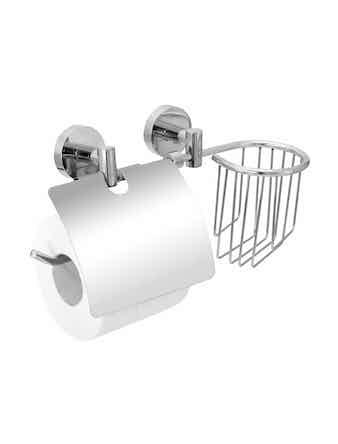 Держатель для туалетной бумаги и освежителя воздуха Fora Long