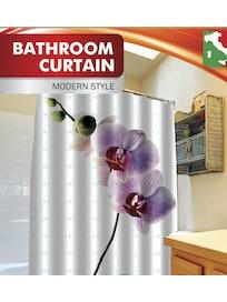 Занавеска для ванной Fora Орхидея