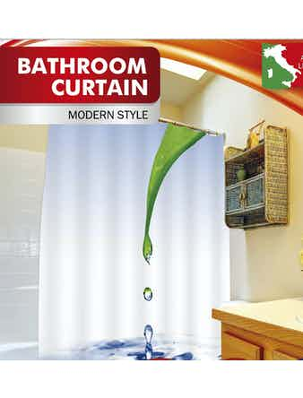 Занавеска для ванной Fora Лист