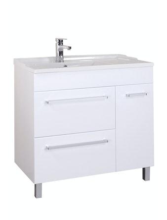 Умывальник мебельный Onika Оника 90, правый, 90 x 19 x 46 см