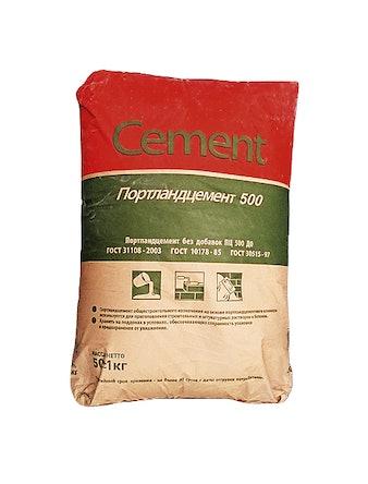 Цемент М-500 Д0 50 кг