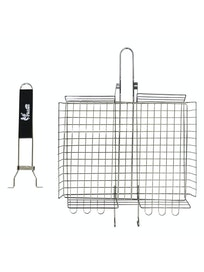 Решетка-гриль cо съемной ручкой Piktime, 31 x 24 x 5,5 см