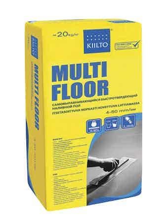 Ровнитель для пола Kiilto Multi Floor, 20 кг