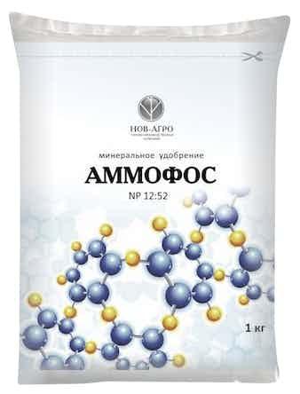 Удобрение Аммофос, 1 кг