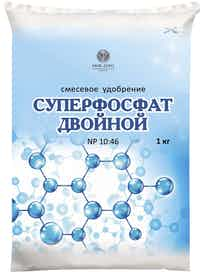 Удобрение Суперфосфат Двойной, 1 кг