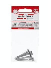 Шуруп сантехнический Tech-KREP, 6 х 40 мм, 4 шт.