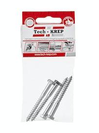 Шуруп сантехнический Tech-KREP, 6 х 60 мм, 4 шт.