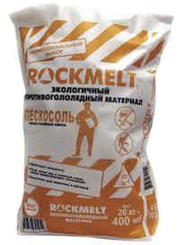 Средство антигололедное Rockmelt Пескосоль, 20 кг