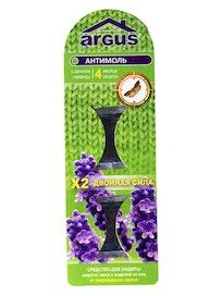 Пластина от моли Argus, 4 месяца защиты, 2 шт.