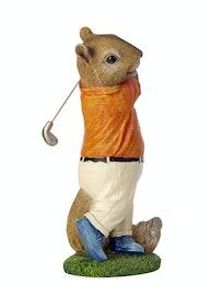 Фигурка Мышь-гольфист, 28 см