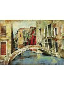 Фотообои DECOCODE венецианский мостик 41-0079-WG винил на флизелине 2,8x4м