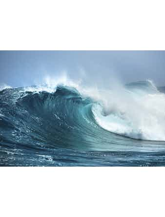 Фотообои DECOCODE морская волна 41-0105-ML винил на флизелине 2,8x4м