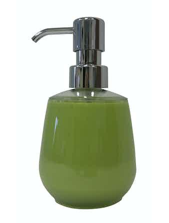 Дозатор для жидкого мыла Swensa Rondo акриловый зеленый