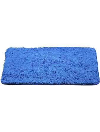 Коврик для ванной, 45 х 70 см, синий