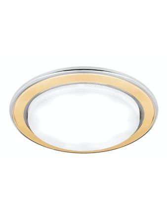 Светильник Gauss Tablet GX101, GX53, хром/золото