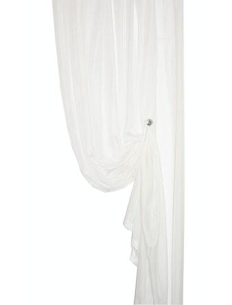 Тюль Вуаль 457 300 х 270 см белая