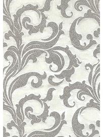 Виниловые обои Ateliero Stella Орнамент 68309-03, 1,06 х 10 м, серебристые