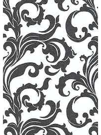 Виниловые обои Ateliero Stella Орнамент 68309-05, 1,06 х 10 м, черно-белые