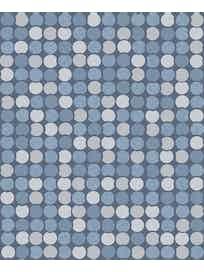 Виниловые обои Ateliero Sfera 68315-05, 1,06 х 10 м, синие