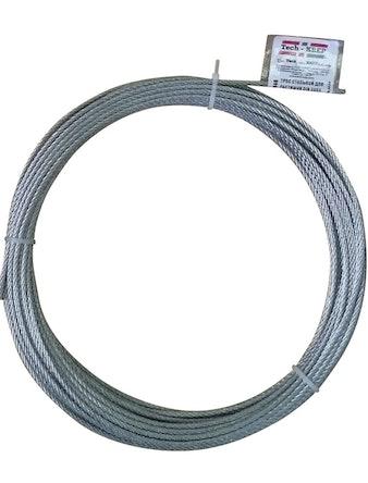 Трос ТЕХ-КРЕП DIN 3055, 3 мм, 20 м