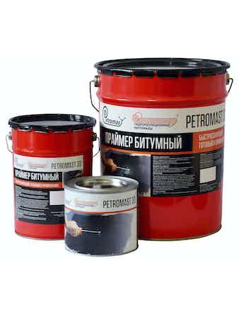 Праймер битумный ГиМ Петромаст №30, 5 кг