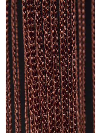 Занавеска нитяная шоколад 90х260