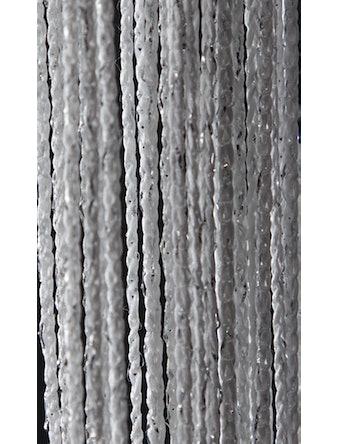 Занавеска нитяная серебро+люрекс 90х260