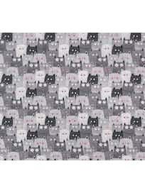 Дорожка для стола Коты, 45 x 145 см