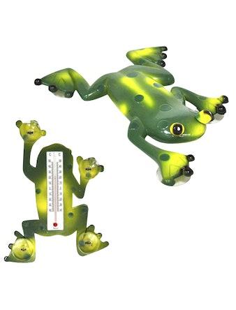 Термометр оконный 17,5х23,5см Лягушка