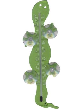 Термометр оконный для крепления Ящерица, на стекло 10*15см
