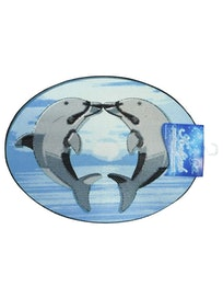 Коврик для ванной Дельфины, 65 х 48 см