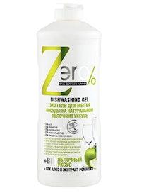 Гель для мытья посуды Zero Яблоко, 0,5 л
