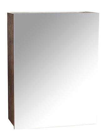 Шкаф-зеркало Cello Napoli 50, мокко