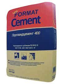 Цемент ПЦ 400 Д-20, 50 кг