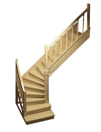 Лестница деревянная ЛЕС-02 универсальная