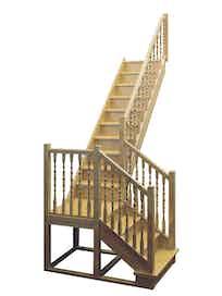 Лестница деревянная ЛЕС-04 универсальная