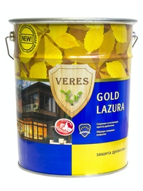 Антисептик Veres Gold глянцевый №19 Дуб, 10 л