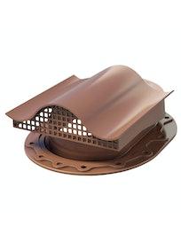 Аэратор Поливент-КТВ-вентиль для кровли из битумной черепицы, коричневый
