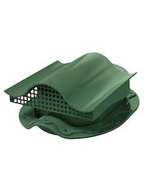 Аэратор Поливент-КТВ-вентиль для кровли из битумной черепицы, зеленый
