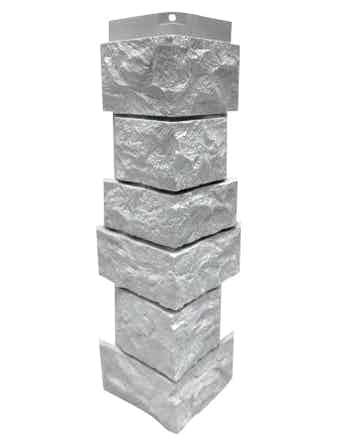 Сборный угол Nordside Северный камень, белый