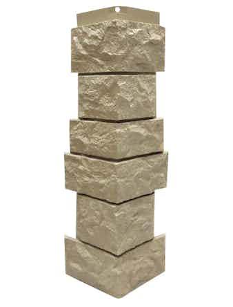 Сборный угол Nordside Северный камень, бежевый