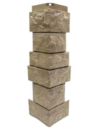 Сборный угол Nordside Северный камень, песочный
