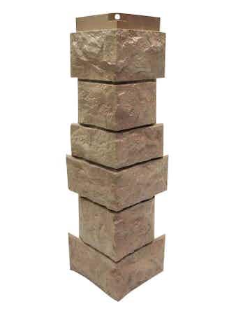 Сборный угол Nordside Северный камень, терракот