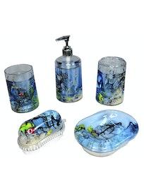 Дозатор для жидкого мыла Морские рыбки 334-03