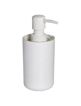 Дозатор для жидкого мыла Vanstore Plastic white, 300 мл